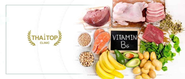 วิตามินบี 6 Pyridoxine ( Vitamin B6 )